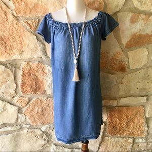 Anthropologie Cloth and Stone off shoulder dress